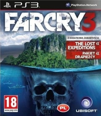 Far Cry 3 Obłędna Edycja (PS3)